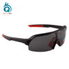 Half Frame Big Lens Men Polarized Cycling Sunglasses
