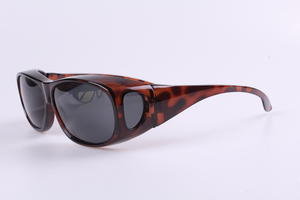 DEMI Brown Wear over Sunglasses Fashion Trend Polarized Fishing Sunglasses