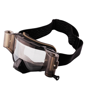 Clear Anti Fog Roff Off Motocross Goggles