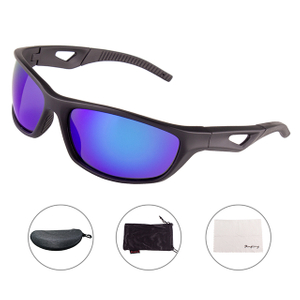 2019 Blue Men Sports Sunglasses Uv Protection