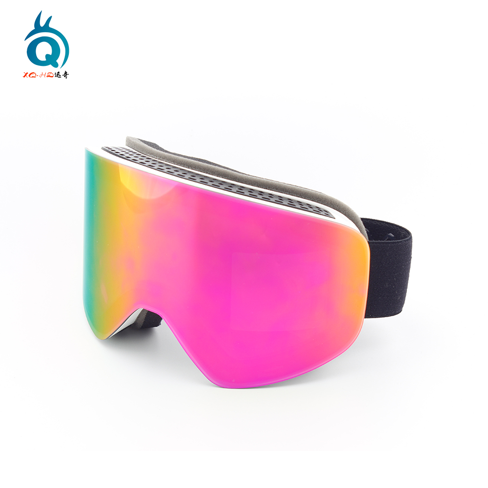 Quick Change Magnetic Interchangeable Lenses Ski Goggles