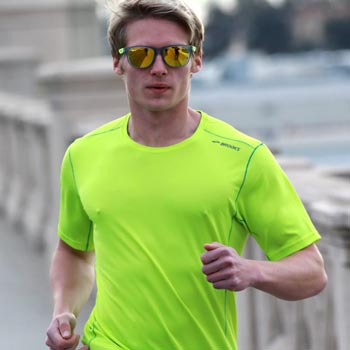 Men sports sunglasses: For Running