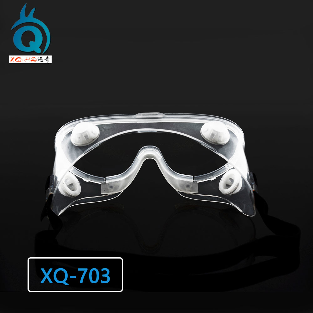 Clear Customized Anti Fog Medical Safety Goggles
